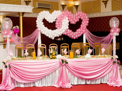 balloon decoration for stage and birthday party